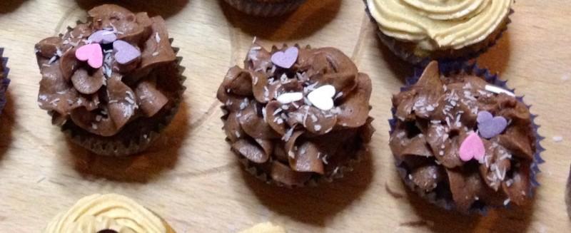 Cupcake alla cioccolata