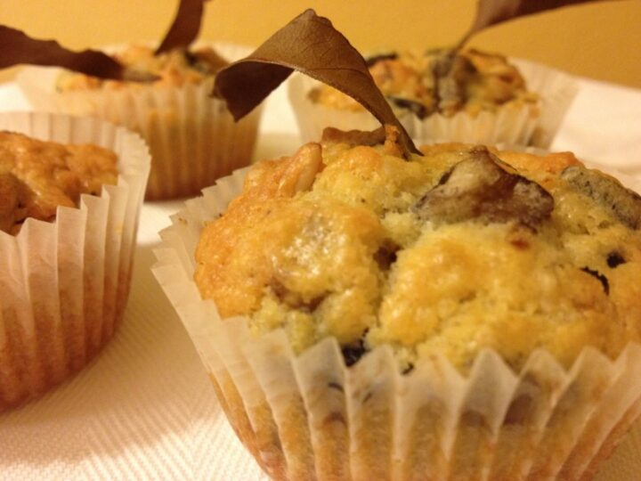 Cupcake melanzane e pinoli