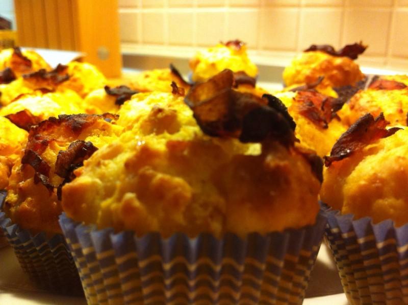 Cupcakes Pancetta e Parmigiano