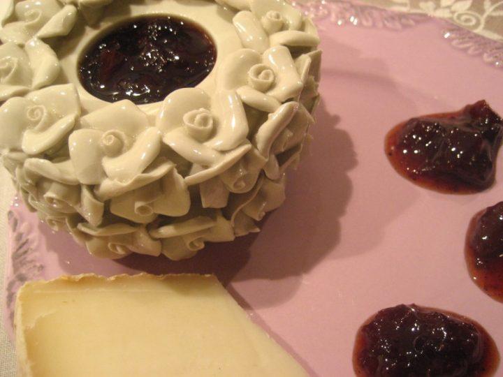 Marmellata di fragole al pepe nero