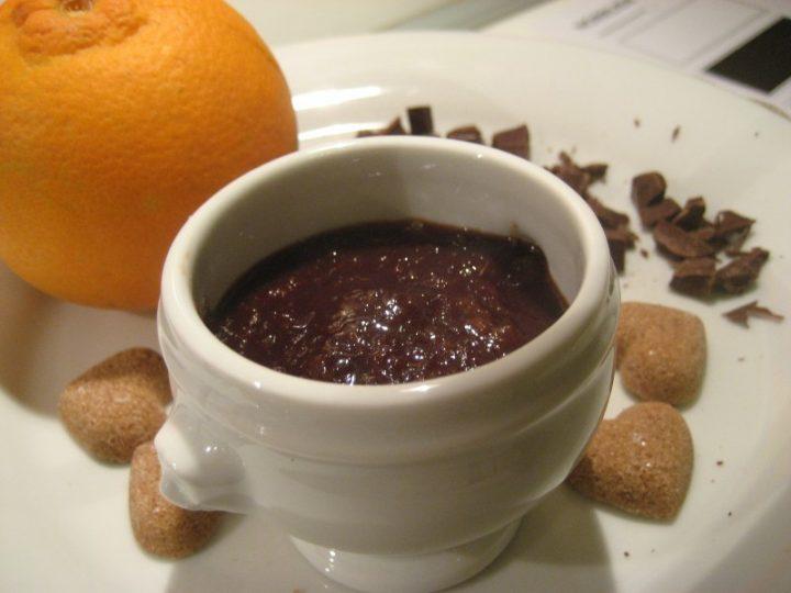 Marmellata alle arance con cacao amaro