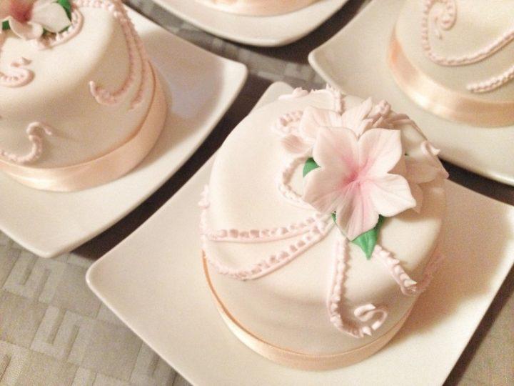 Mini cakes con sorpresa