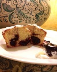 muffin alle ciliege