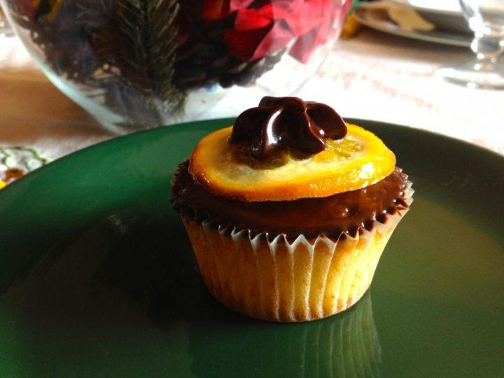 Cupcakes all'arancia candita