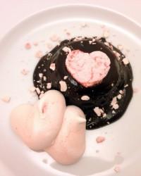 Budino di semolino al cioccolato piccante