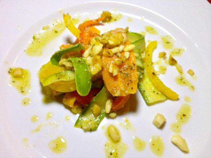 Fettuccine di verdure