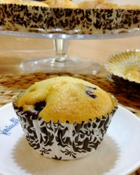 Muffin mirtilli e ginger
