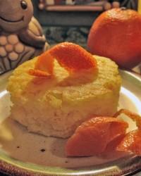 Torta Di Riso e Mandarino