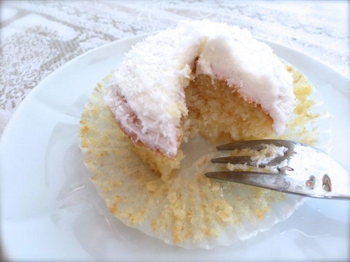 Cupcakes cocco e ananas