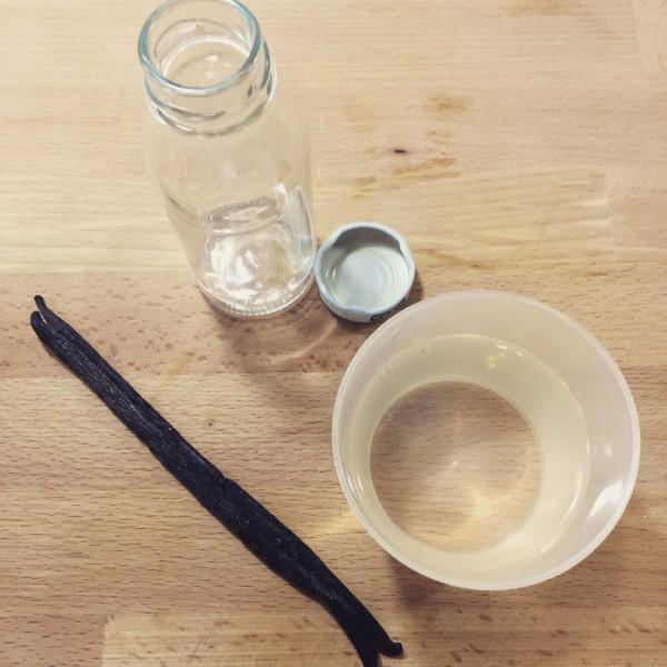 Estratto di vaniglia - Ingredienti