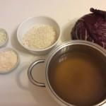 Risotto al radicchio - Ingredienti