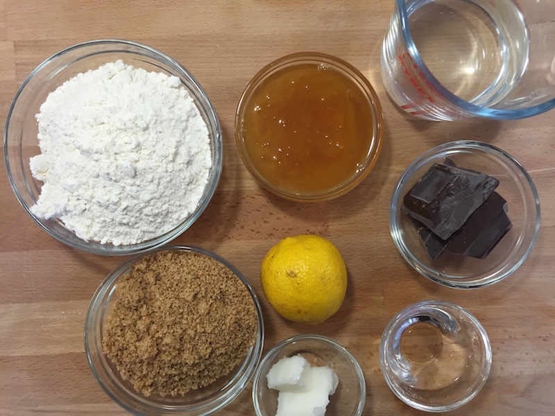 Mostaccioli Ciociari - Ingredienti