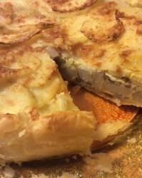 Torta salata cipolle e patate