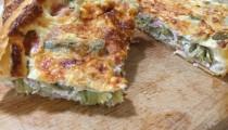 Torta salata Carciofi e Cotto